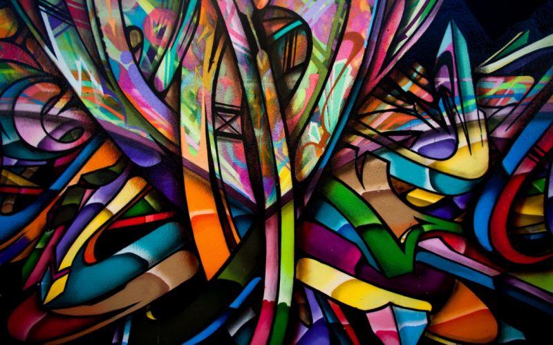 Graffiti Colors Background wallpaper