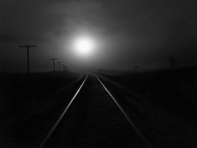noche via luna oscuridad dark wallpaper