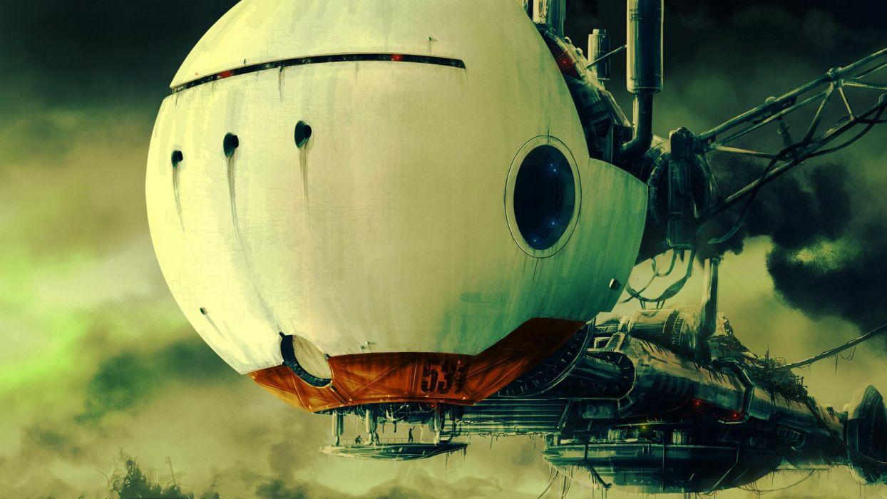 nave espacial ciencia ficcion wallpaper