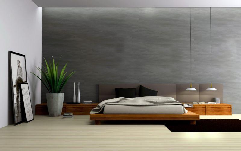 Modern Bedroom Design wallpaper