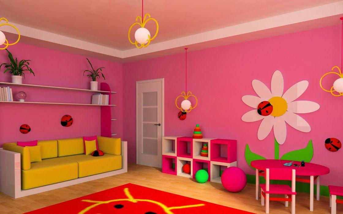 Kids Room Design wallpaper