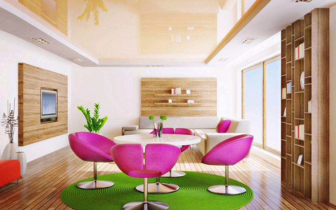 Living Room Design Interior wallpaper