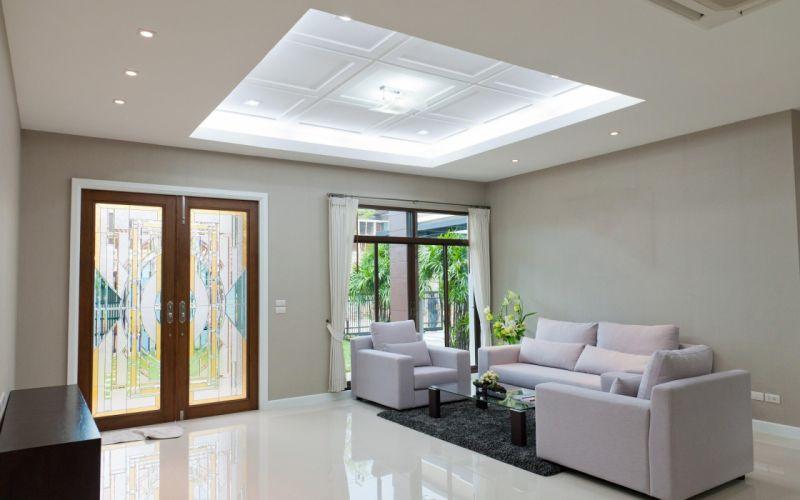 Glass Door Window Lighting Living Room wallpaper