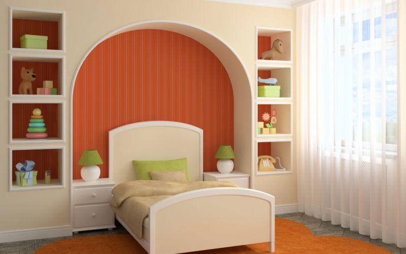 Children Room Interior Design wallpaper