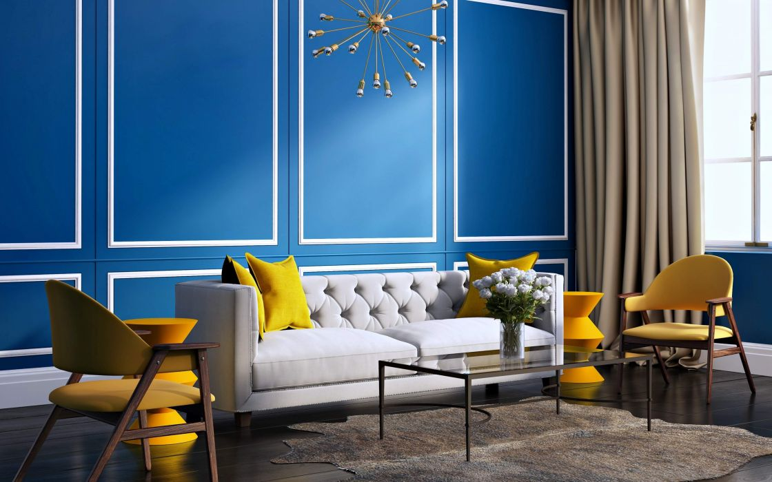 Decorated Room Interior wallpaper