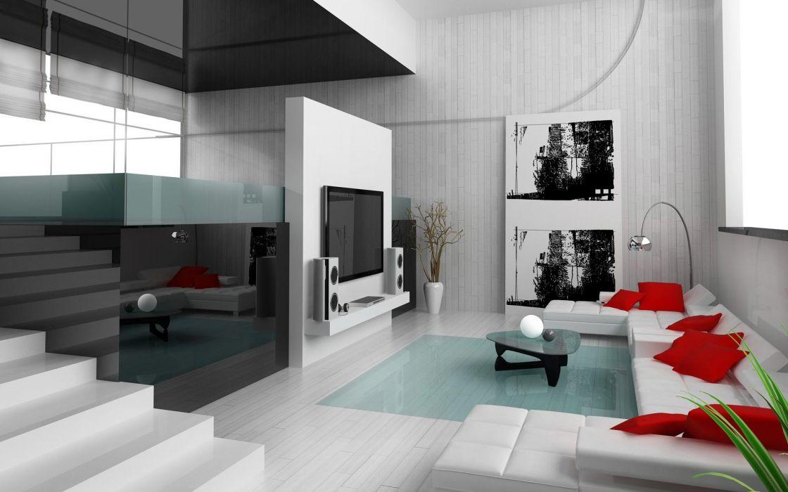 Living Room Interior Design wallpaper