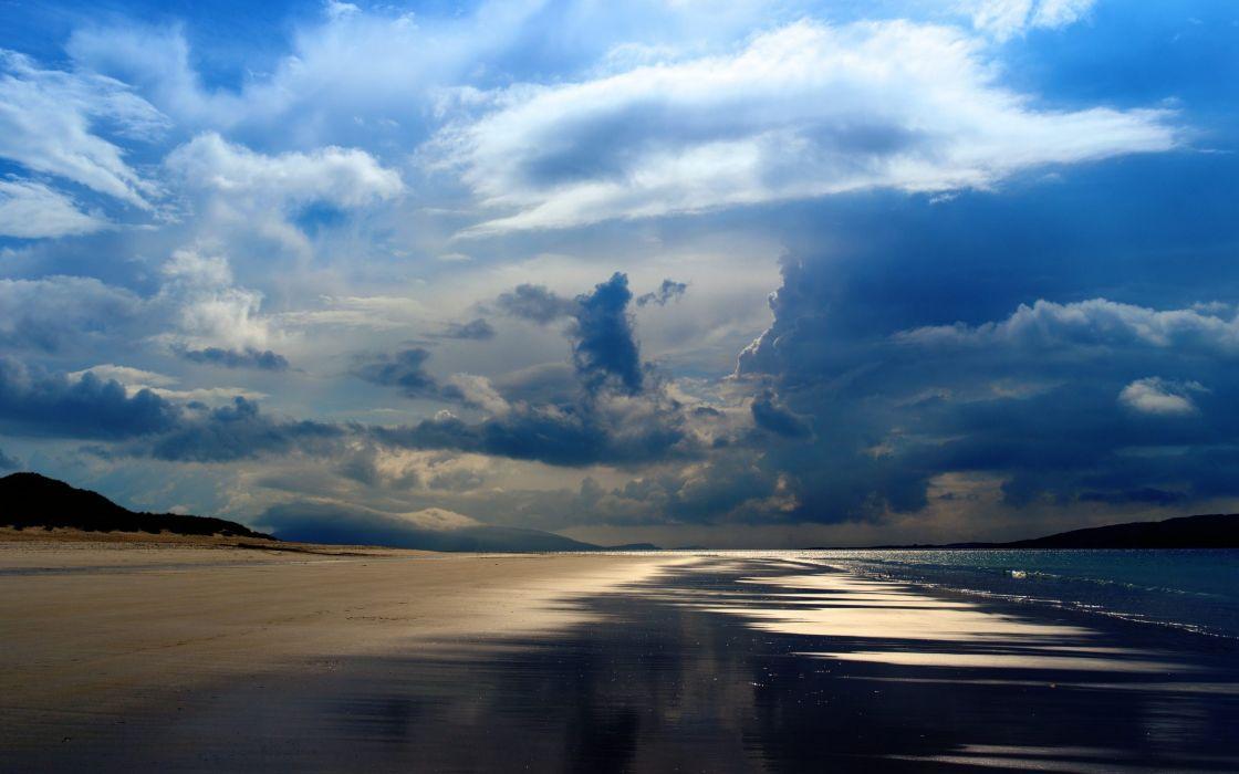 Ocean Beach beautiful Nature wallpaper