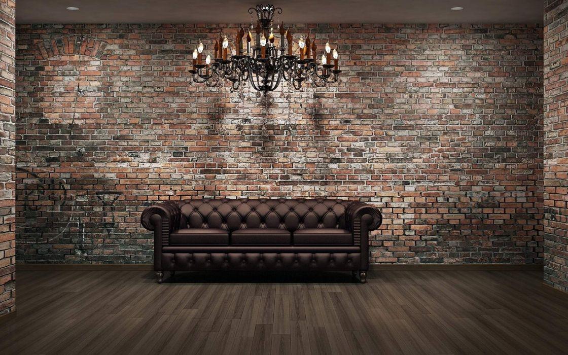Lounge Furniture Leather Sofa wallpaper