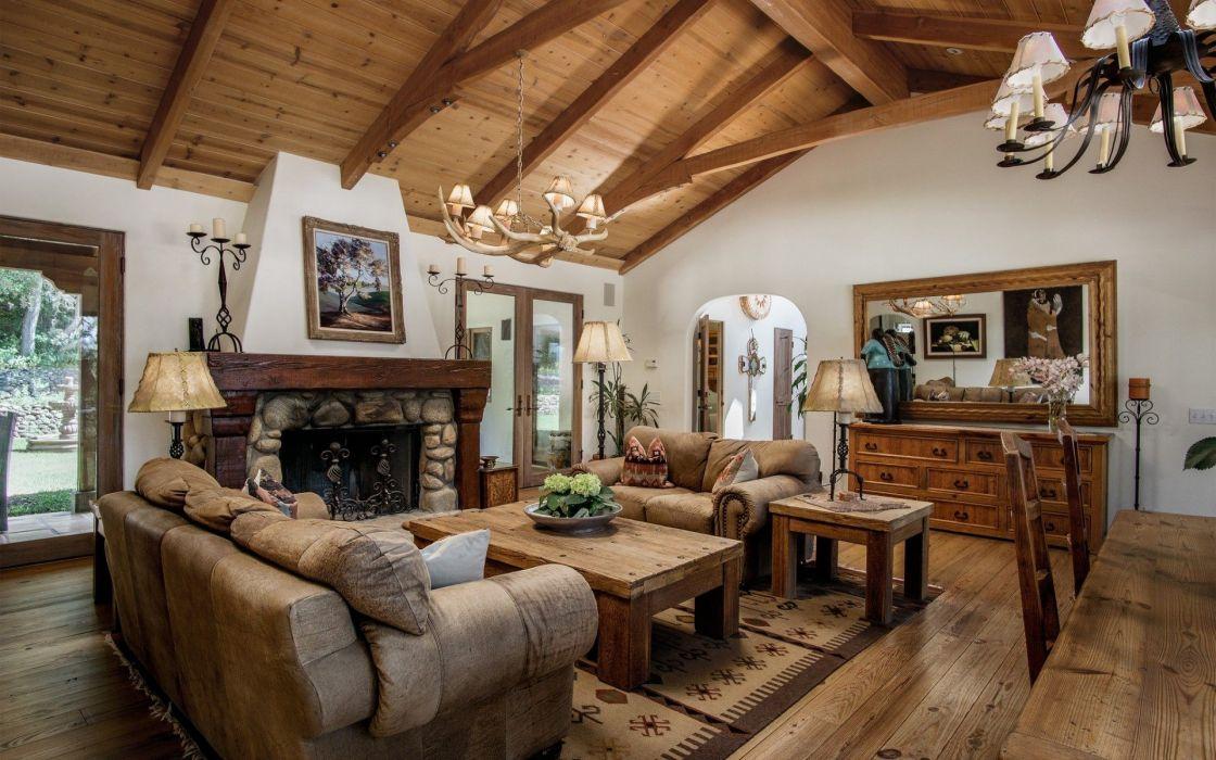 Design Living Room Interior wallpaper