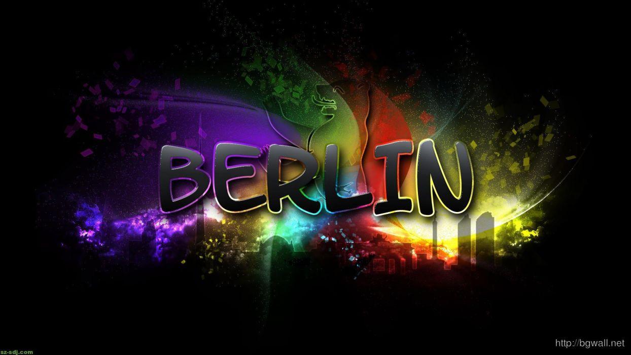 berlin text abstracto wallpaper