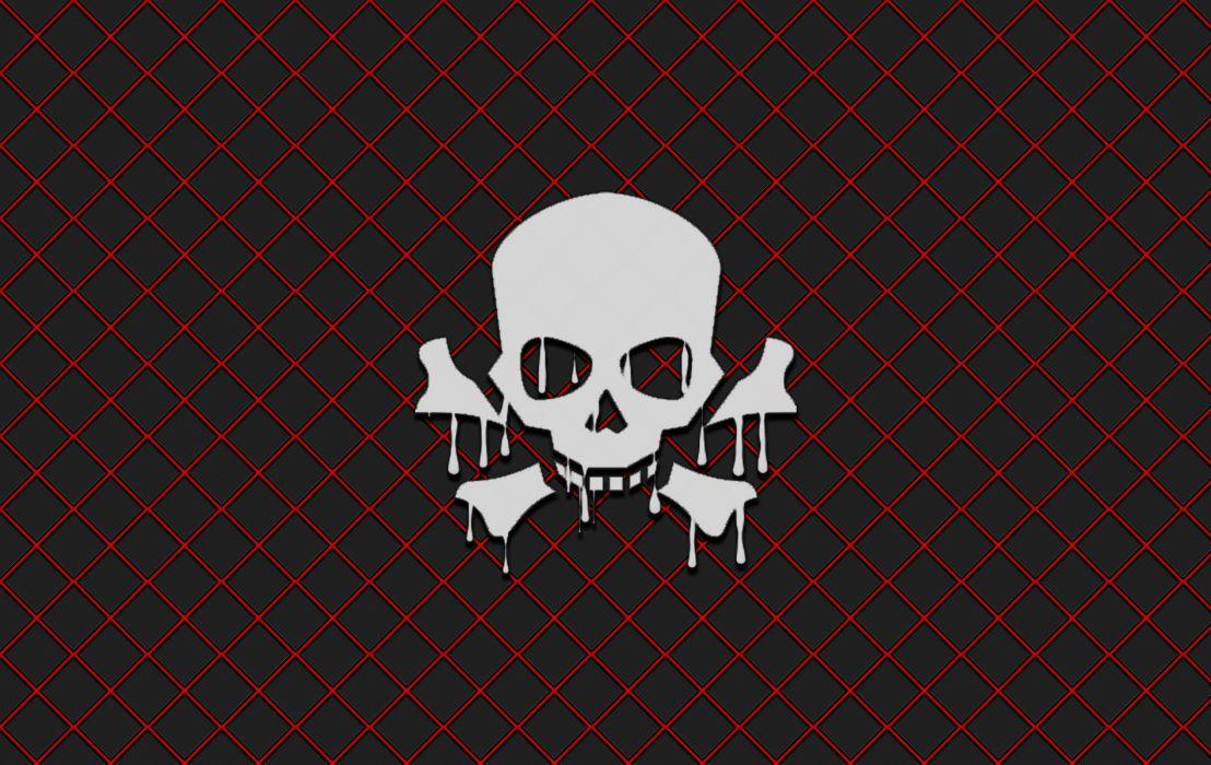 Melting Skull IV wallpaper   1900x1200