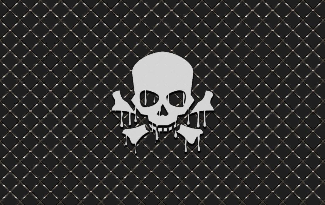 Melting Skull V wallpaper