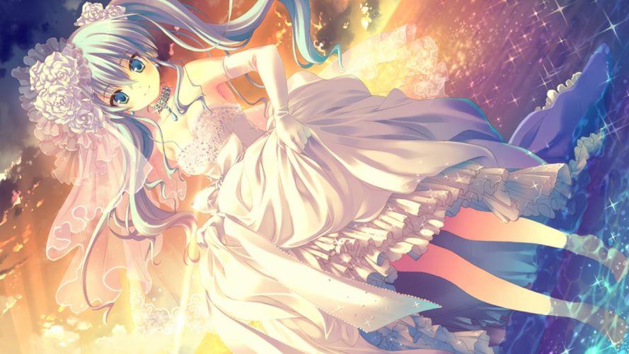 bride girl anime cute girl wallpaper