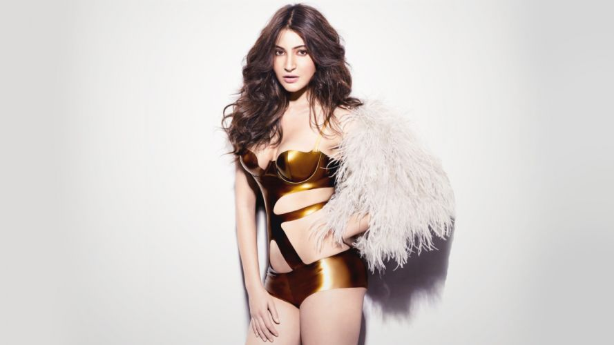 anushka-sharma-golden-swimsuit-gq-india-4k-wallpaper wallpaper