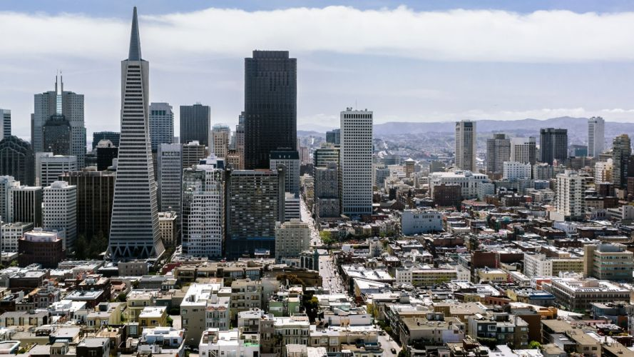 Cityscapes architecture buildings california san francisco cities wallpaper