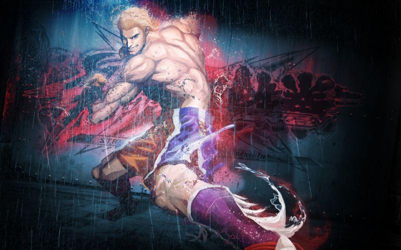 Street fighter x tekken Steve fox Rain Smile wallpaper