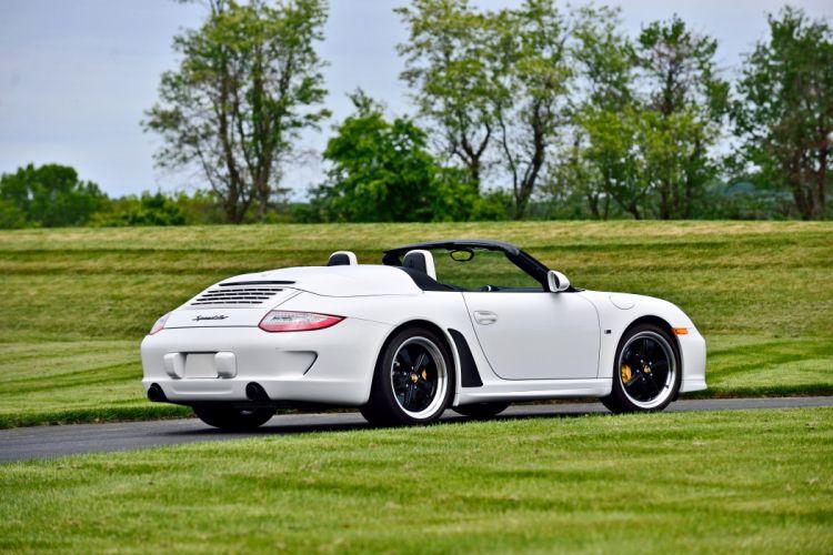 2011 Porsche 911 Speedster Convertible Supercar Exotic German -03 wallpaper