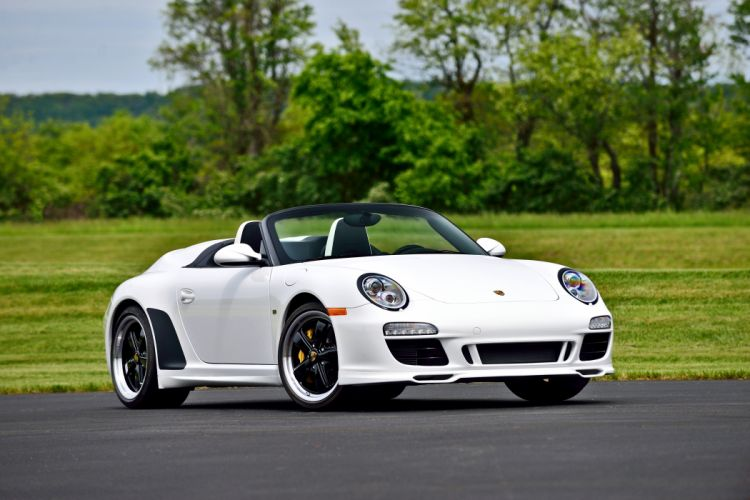 2011 Porsche 911 Speedster Convertible Supercar Exotic German -12 wallpaper