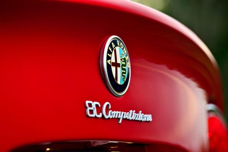 2008 Alfa Romeo 8C Competizione Exotic Supercar Italy -09 wallpaper