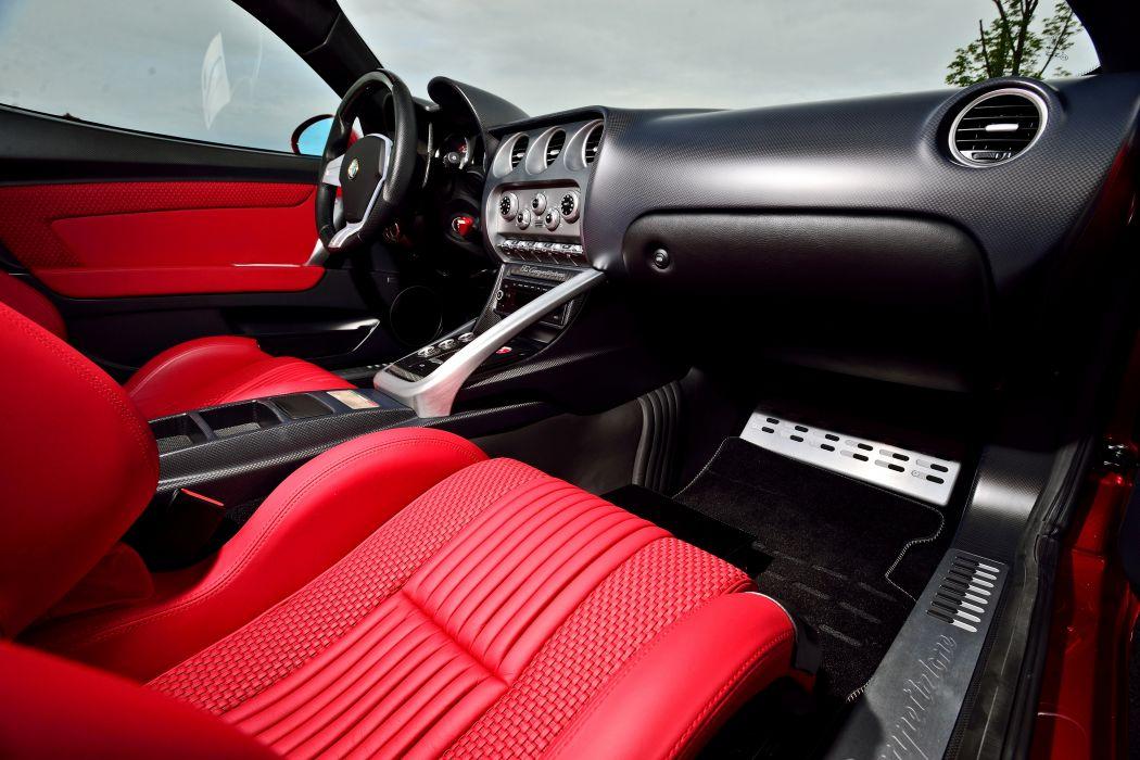 2008 Alfa Romeo 8C Competizione Exotic Supercar Italy -05 wallpaper