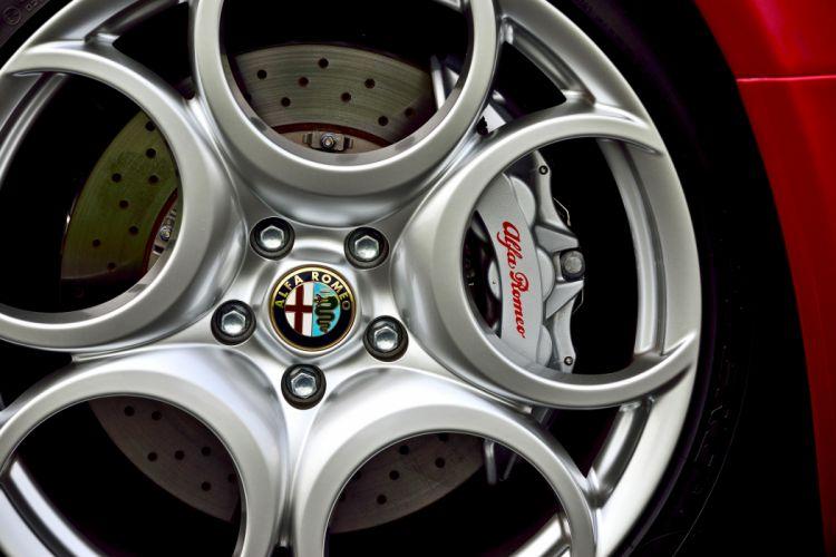 2008 Alfa Romeo 8C Competizione Exotic Supercar Italy -10 wallpaper