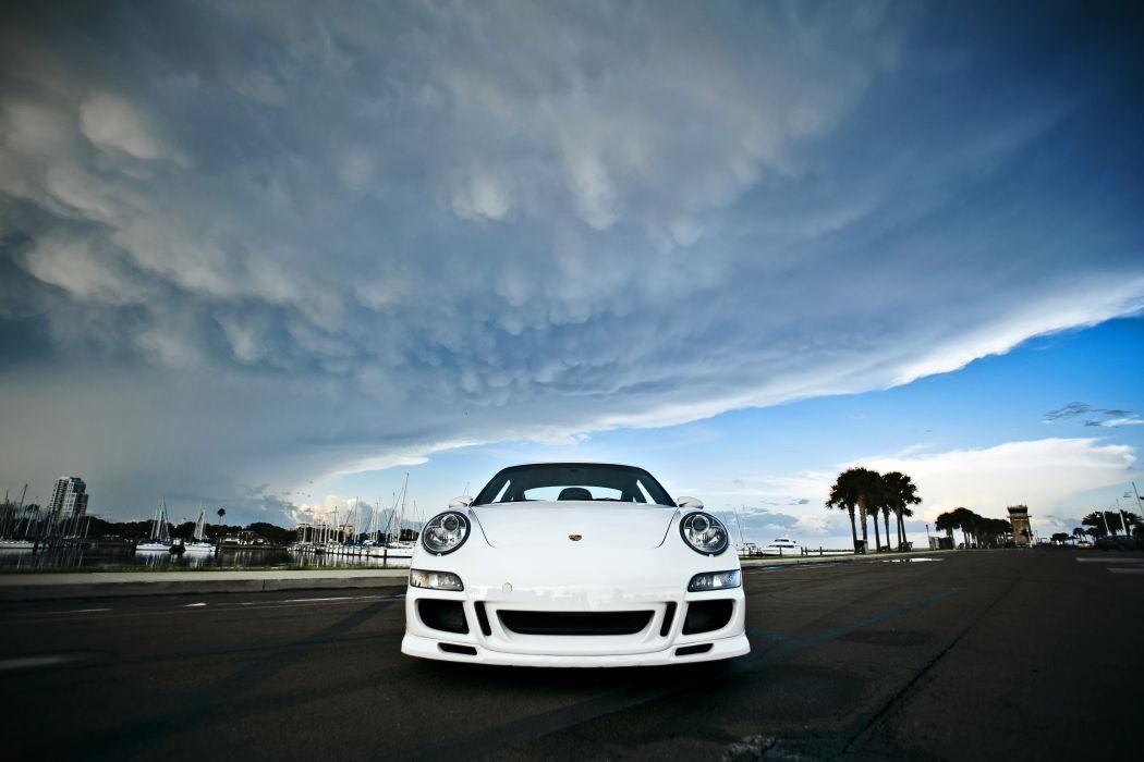 2008 Porsche 911S Supercar Exotic -03 wallpaper