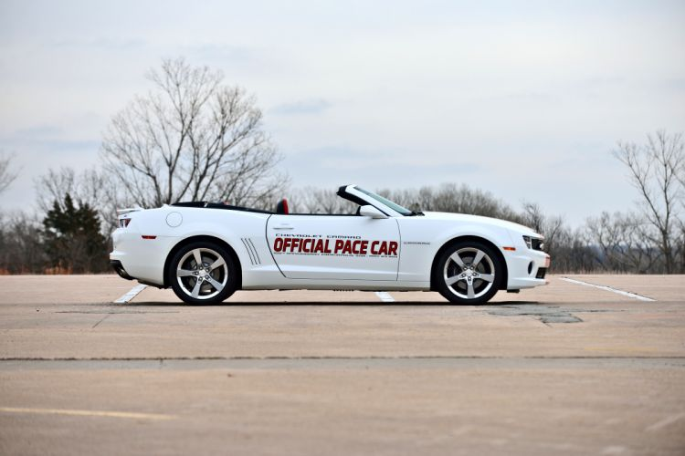 2011 Chevrolet Camaro Convertible Official Pace Car Muscle Supercar USA -02 wallpaper