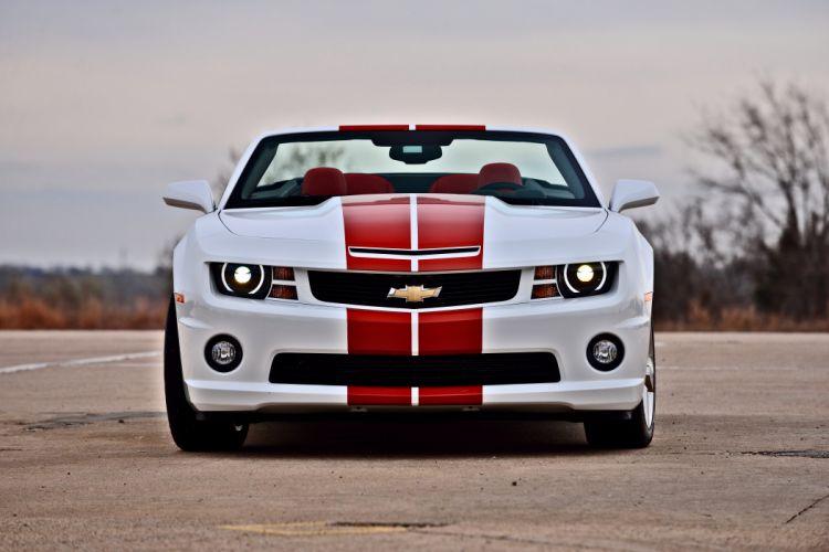 2011 Chevrolet Camaro Convertible Official Pace Car Muscle Supercar USA -10 wallpaper