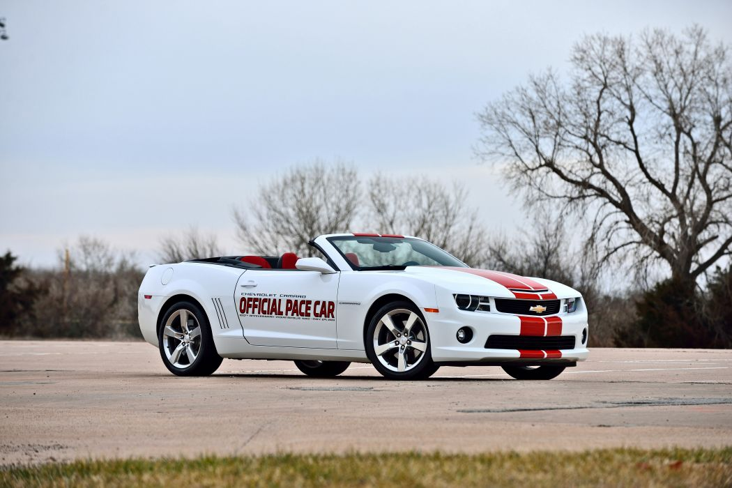 2011 Chevrolet Camaro Convertible Official Pace Car Muscle Supercar USA -12 wallpaper