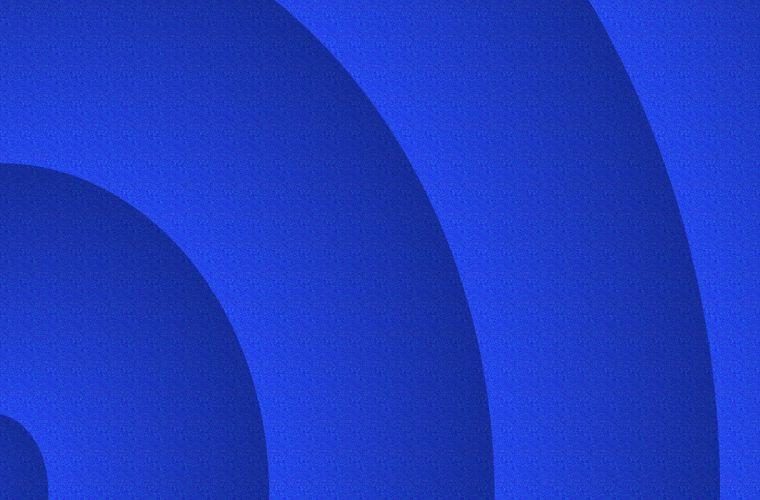 Bluest Blue wallpaper
