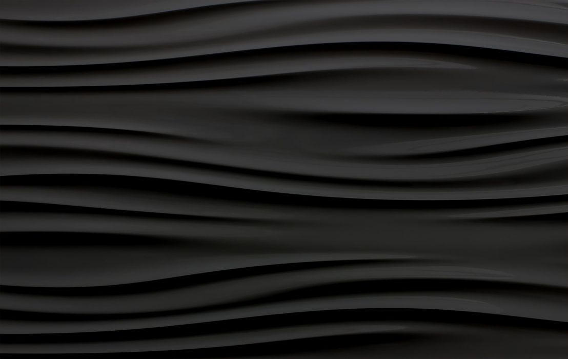 Wavy Black wallpaper