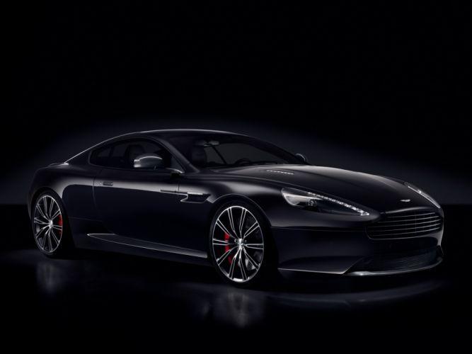 Aston Martin DB9 Carbon Black wallpaper