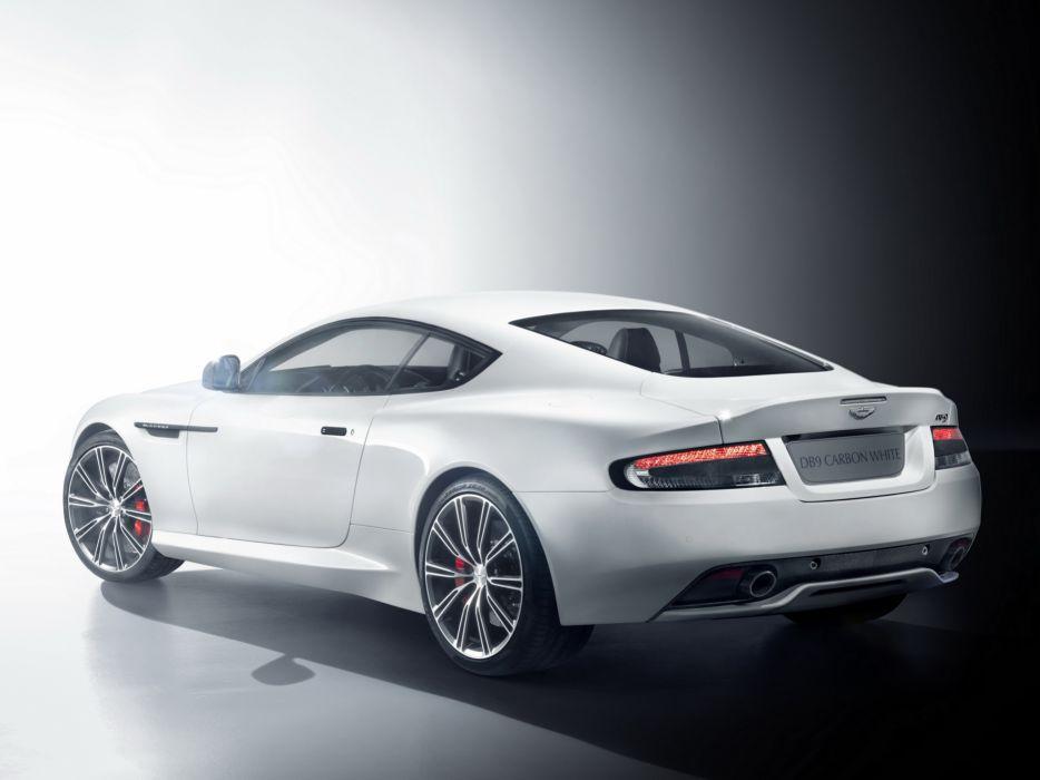 Aston Martin DB9 Carbon White wallpaper