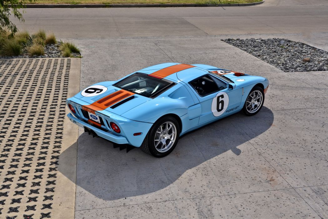 2006 Ford GT Heritage Edition Super Car Supercar USA -03 wallpaper