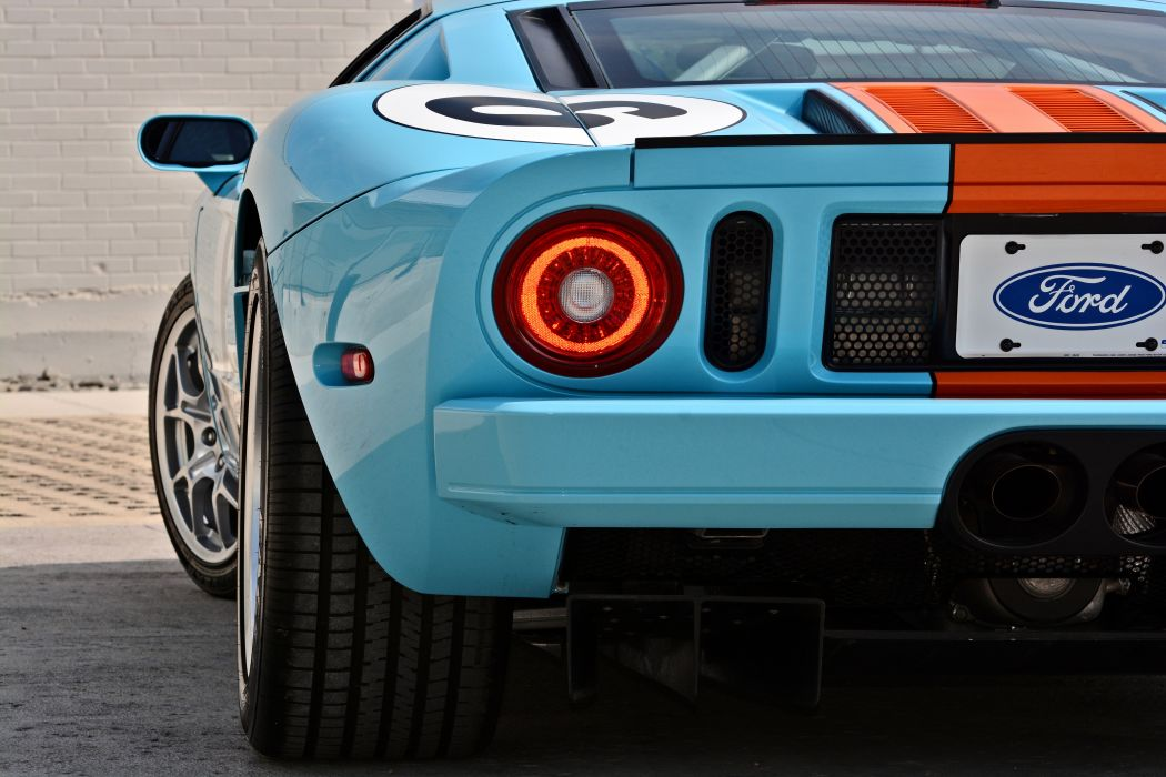 2006 Ford GT Heritage Edition Super Car Supercar USA -09 wallpaper