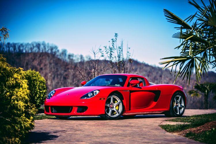 2005 Porsche Carrera GT Supercar Exotic German -01 wallpaper
