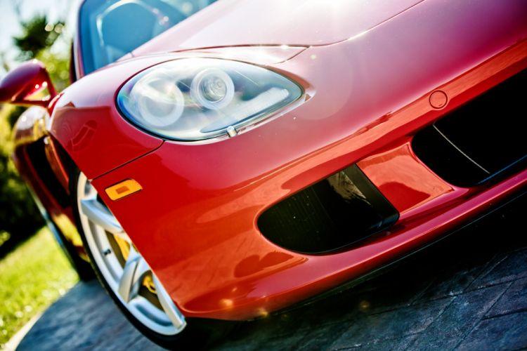 2005 Porsche Carrera GT Supercar Exotic German -09 wallpaper