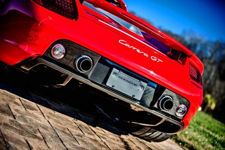 2005 Porsche Carrera GT Supercar Exotic German -10 wallpaper