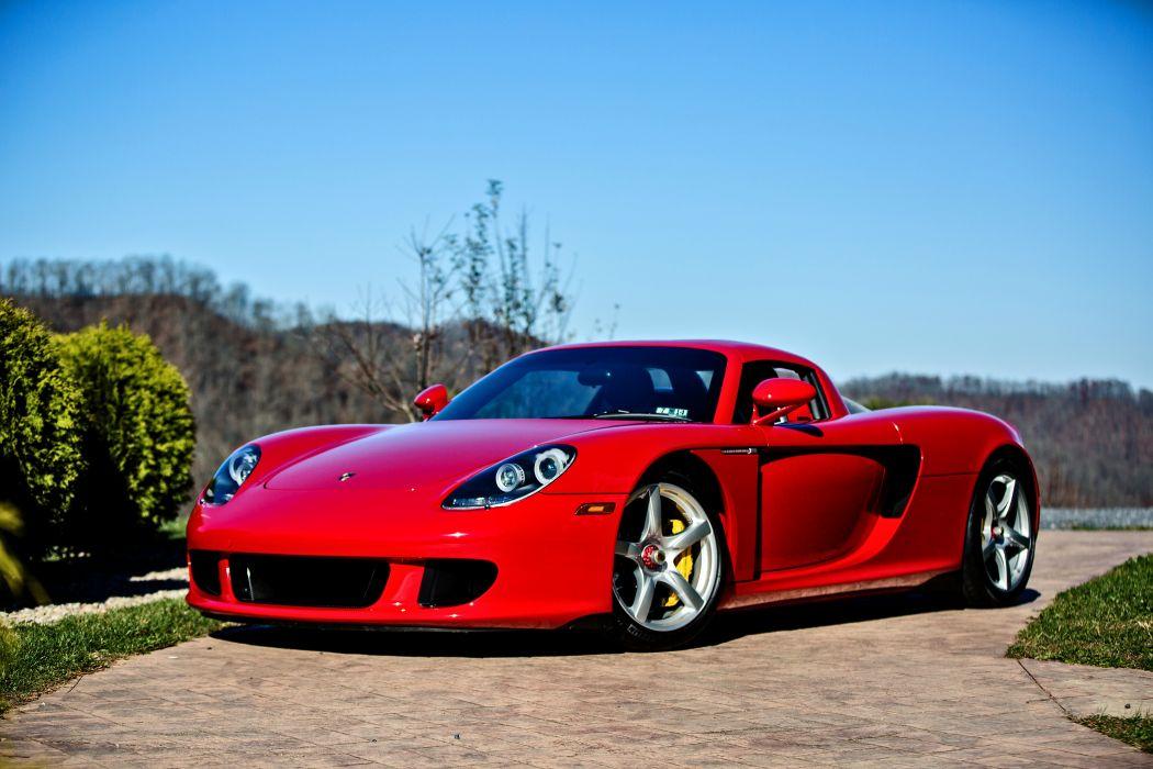 2005 Porsche Carrera GT Supercar Exotic German -22 wallpaper