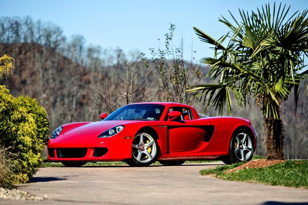 2005 Porsche Carrera GT Supercar Exotic German -19 wallpaper