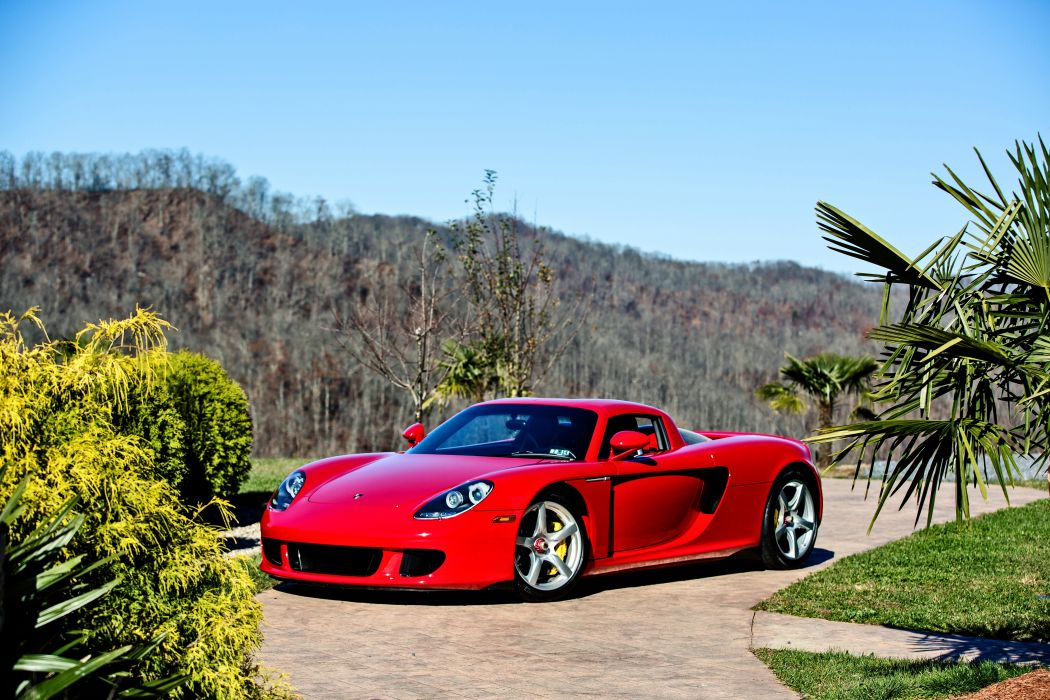 2005 Porsche Carrera GT Supercar Exotic German -21 wallpaper