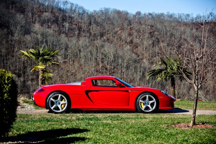 2005 Porsche Carrera GT Supercar Exotic German -28 wallpaper