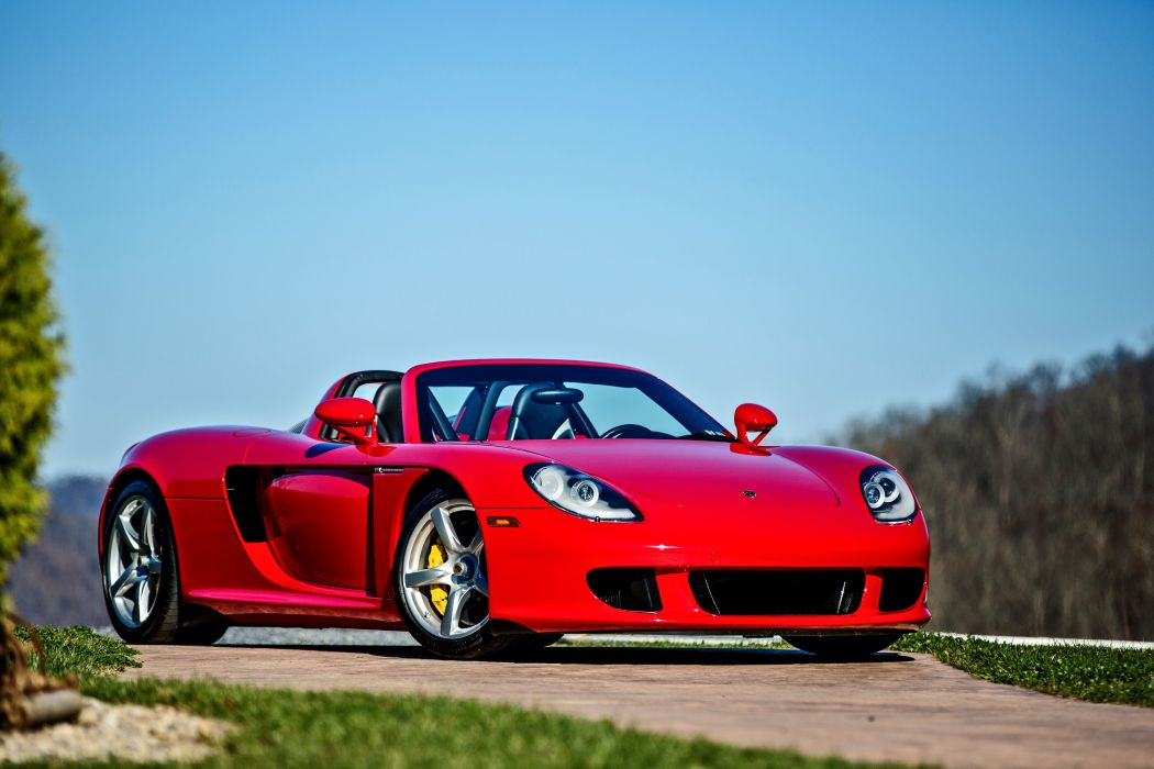 2005 Porsche Carrera GT Supercar Exotic German -36 wallpaper