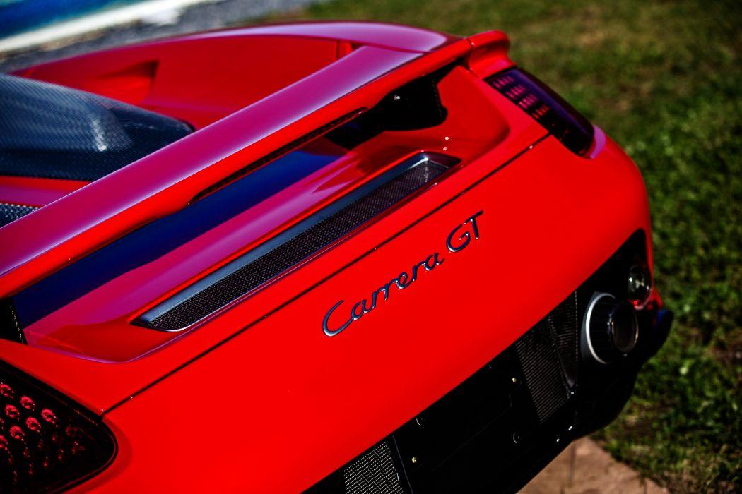 2005 Porsche Carrera GT Supercar Exotic German -42 wallpaper