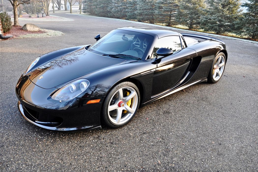 2005 Porsche Carrera GT Supercar Exotic German -56 wallpaper