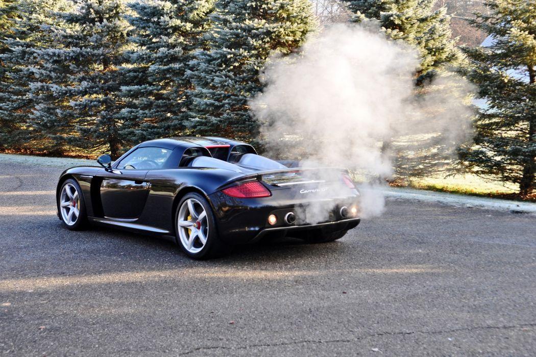 2005 Porsche Carrera GT Supercar Exotic German -77 wallpaper