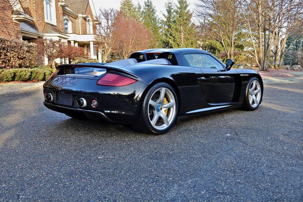 2005 Porsche Carrera GT Supercar Exotic German -75 wallpaper