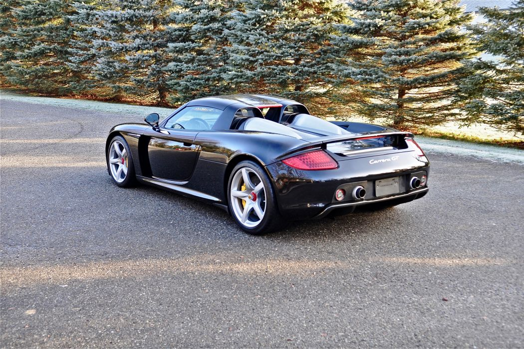 2005 Porsche Carrera GT Supercar Exotic German -76 wallpaper