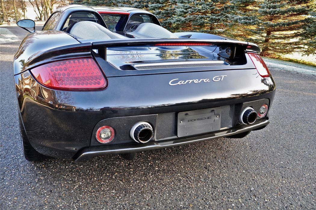 2005 Porsche Carrera GT Supercar Exotic German -74 wallpaper
