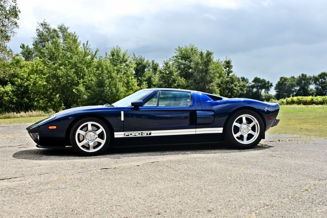 2005 Ford GT Supercar USA -02 wallpaper